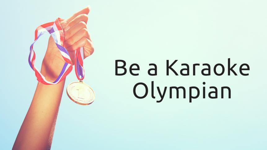 Karaoke Olympian Blog