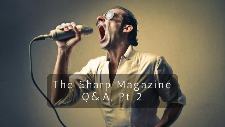 Sharp Magazine Blog
